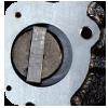 System zwiększający wewnętrzną cyrkulację oleju  w pompie zapewniający stabilną pracę urządzenia  i lepsze zabezpieczenie części